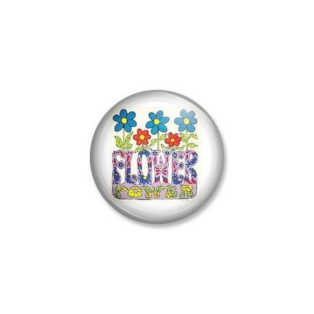 Badge Flower power