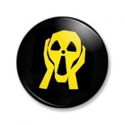 Badge Le cri - Munch